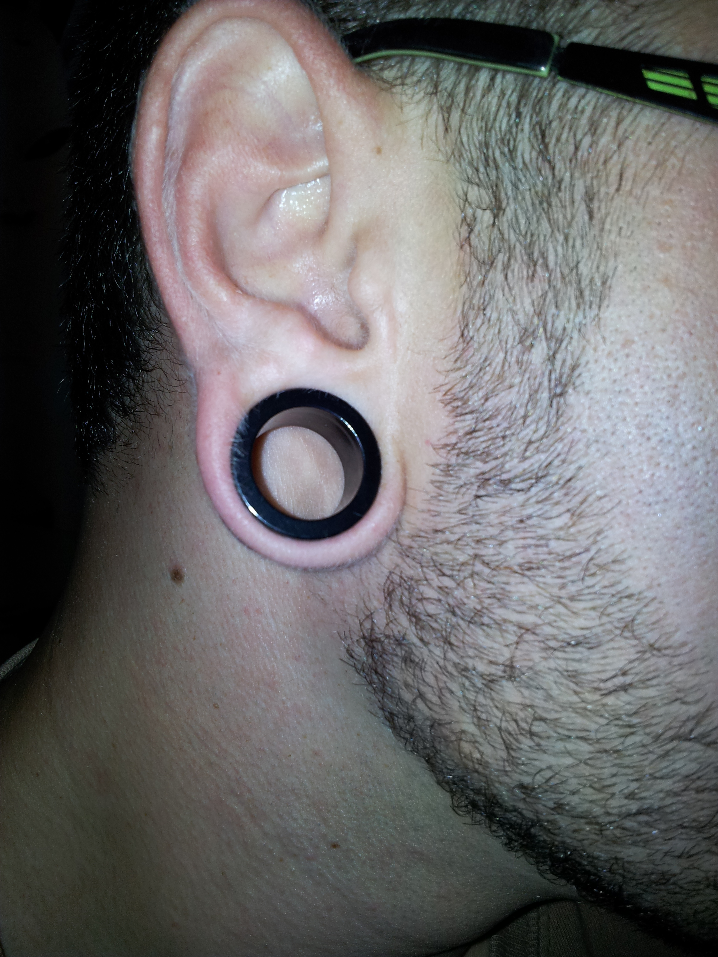 I make fake gauges and ear plugs in size from 4g to 58
