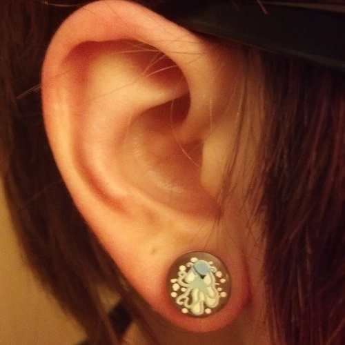 Zero Gage Earrings The 14 Weirdest Things People Put In Their Gauges