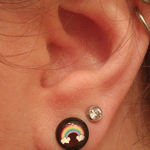 Rainbow picture plug 2g   -- Photo # 74100