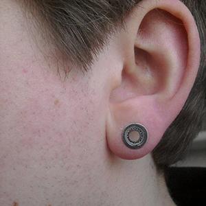 Ball bearing plug 0g