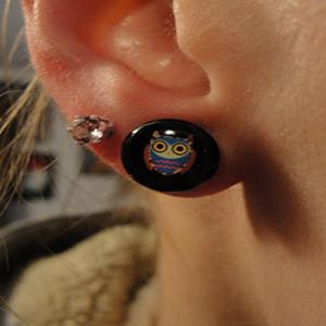 Single flare owl plug 0g