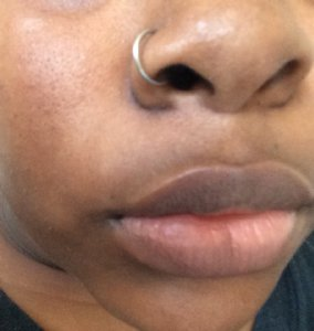 "Nose Hoop 18g 3/8""  -- Photo # 74568"
