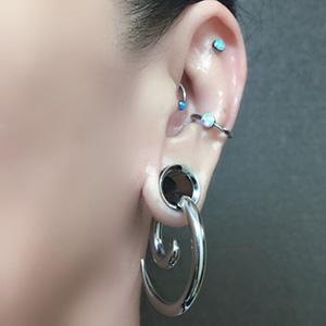 Steel spirals 6g  Large (pair)