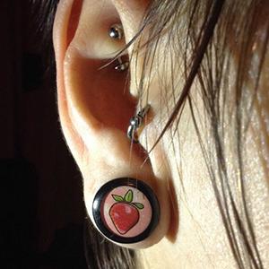 Ikon plug (Strawberry) 12mm