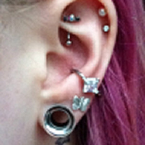 Steel concave back taper (2 inches long) 10g