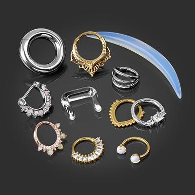Body Jewelry Bodyartforms Gauges Septum Rings Nose Rings More